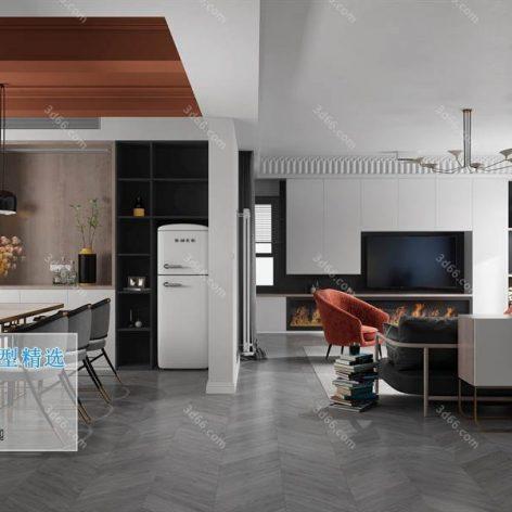 A003-现代风格-Modern style (3ddanlod.ir)