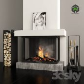 Fireplace and Accessories(3ddanlod.ir) 934