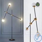 Floor Lamp Baton FLOR LAMP 3(3ddanlod.ir) 032