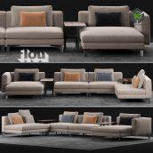 Flou Tay Modular Sofa Composition(3ddanlod.ir) 2325