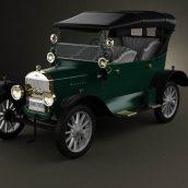 Ford Model T 4door Tourer 1924 3D Model(3ddanlod.ir) 2002