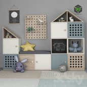 Furniture for Childrens Room with Decor 11(3ddanlod.ir) 1136