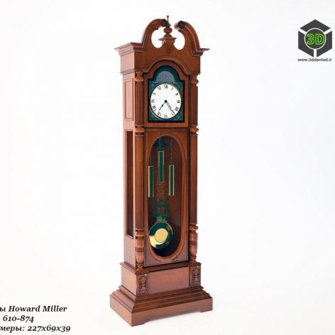 Grandfather Clocks Howard Miller(3ddanlod.ir) 036