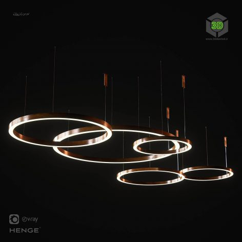 Henge Light Ring Horizontal(3ddanlod.ir) 1986