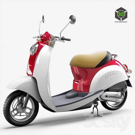 Honda Crea Scoopy(3ddanlod.ir) 530