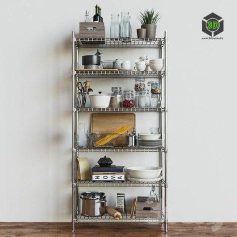 IKEA Shelves Section OMAR(3ddanlod.ir) 889