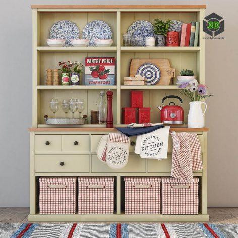 Kendall Painted Dresser(3ddanlod.ir) 2149