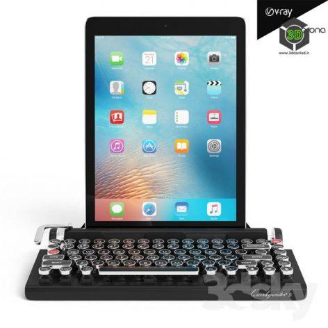 Keyboard and Ipad Pro(3ddanlod.ir) 1311