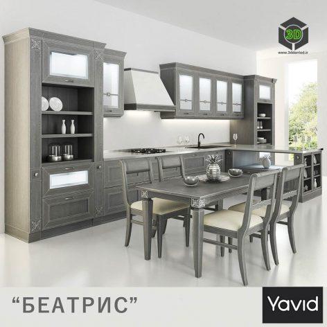 Kitchen Beatrice from Companies Yavid(3ddanlod.ir) 1882