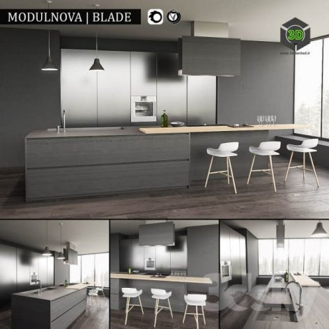 Kitchen Blade(3ddanlod.ir) 440