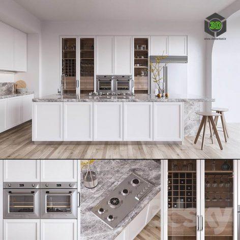 Kitchen ORIGINE Aeterna(3ddanlod.ir) 1045