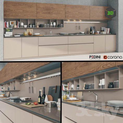 Kitchen Pedini Arke(3ddanlod.ir) 589