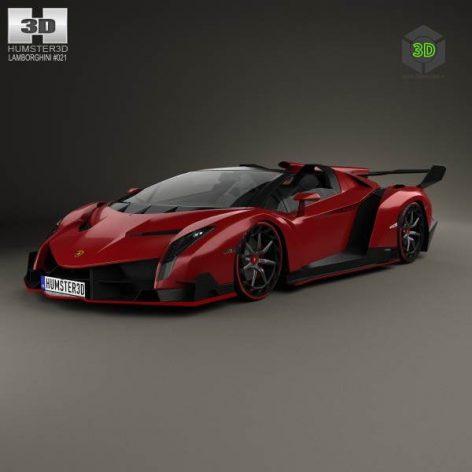 Lamborghini Veneno Roadster 2014(3ddanlod.ir) 2009
