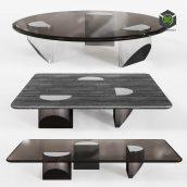 Minotti Wedge Coffee Table(3ddanlod.ir) 3920