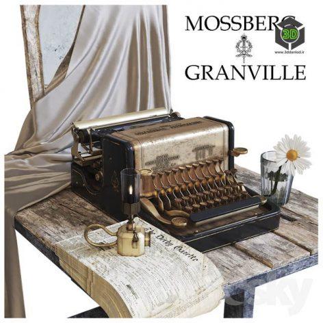 Mossberg & Granville Typewriter(3ddanlod.ir) 3482