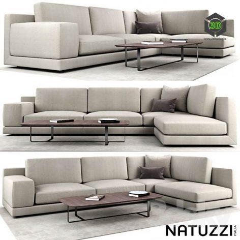 Natuzzi Agora(3ddanlod.ir) 3333