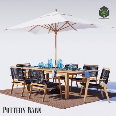 Outdoor Furniture Palmer Rope(3ddanlod.ir) 3917