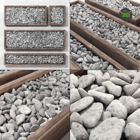 Pebble Frame Pebble in Forms(3ddanlod.ir) 3756