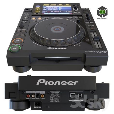 Pioneer CDJ2000(3ddanlod.ir) 3764