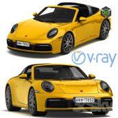 Porsche 911 Targa 2019 2(3ddanlod.ir) 3876