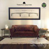 Reggio High Back Sofa Timothy Oulton(3ddanlod.ir) 3228