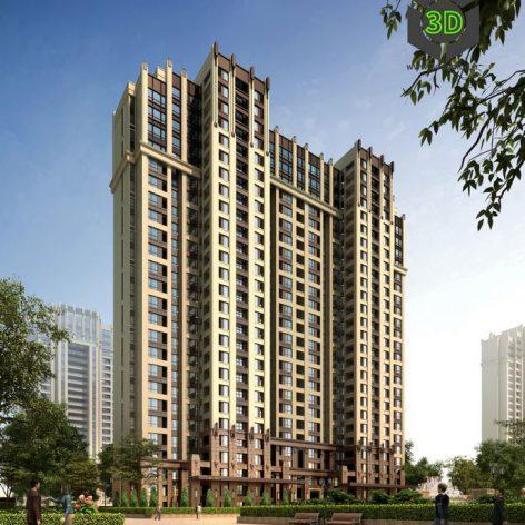 Residential Complex 020(3ddanlod.ir) 038