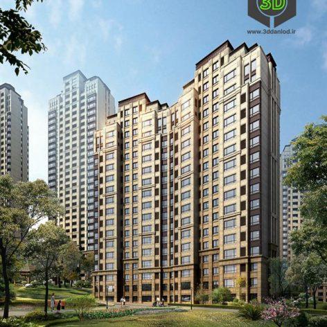 Residential Complex 021(3ddanlod.ir) 045