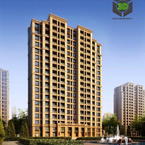 Residential Complex 027(3ddanlod.ir) 067