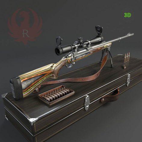 Ruger Guide Gun(3ddanlod.ir) 4043