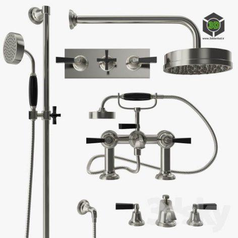 Samuel Heath Style Modern Mixer Filler and Shower(3ddanlod.ir) 3288