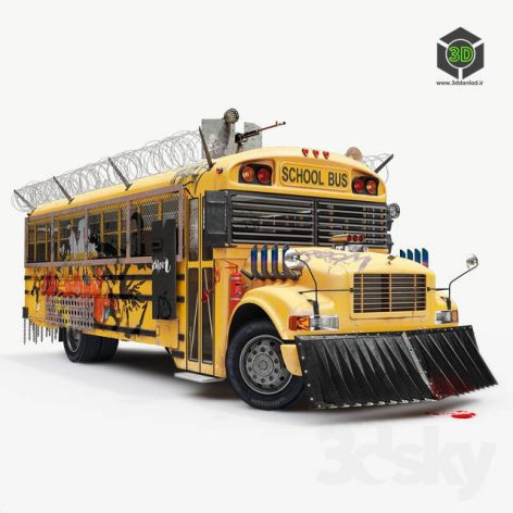 School Bus Apocalypse(3ddanlod.ir) 3679
