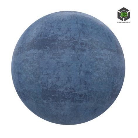 blue concrete 02 render (3ddanlod.ir)
