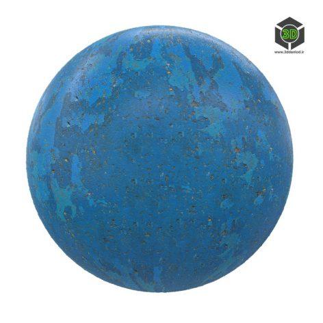 blue concrete 03 render (3ddanlod.ir)
