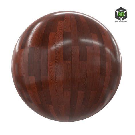 dark shiny wood tiles 4_render (3ddanlod.ir)