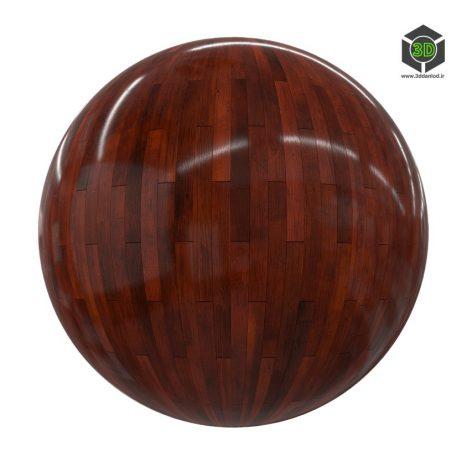 dark shiny wood tiles 8_render (3ddanlod.ir)
