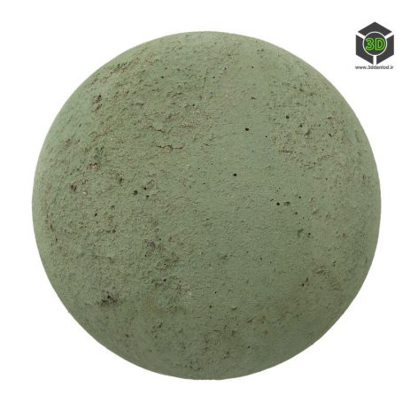 green concrete render (3ddanlod.ir)
