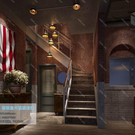 E001-美式风格-American style (3ddanlod.ir)