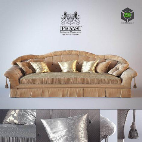 Sofa Savoy Provasi PR1101(3ddanlod.ir) 3066