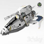 Spaceship(3ddanlod.ir) 2948