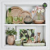 Spring Decorative Set(3ddanlod.ir) 2990