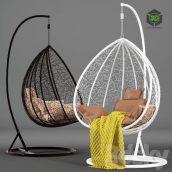 Suspended Swing Chair Fresco Maxi(3ddanlod.ir) 3030