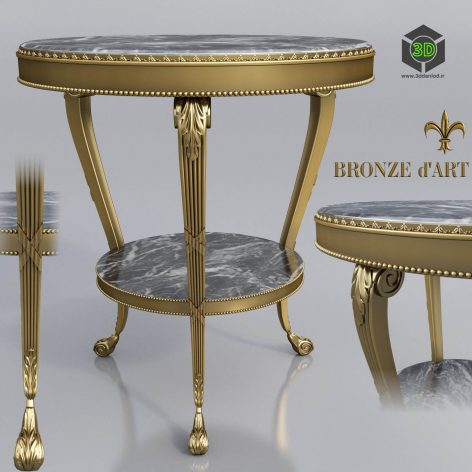 Table Empire from 1143 Bronze(3ddanlod.ir) 2793