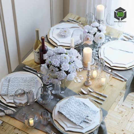 Table Setting 20(3ddanlod.ir) 2582
