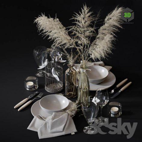 Table Setting 4(3ddanlod.ir) 2768