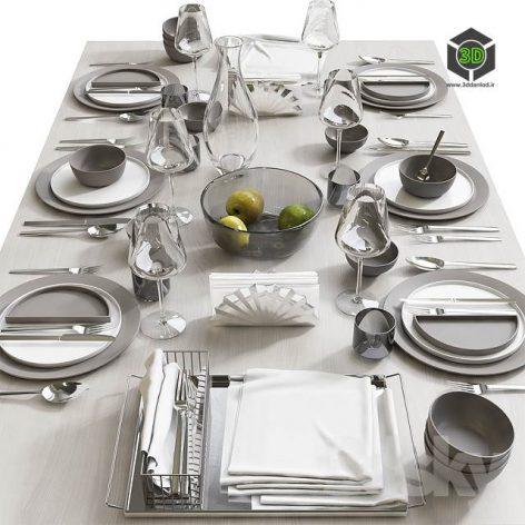 Table Setting 8(3ddanlod.ir) 2725
