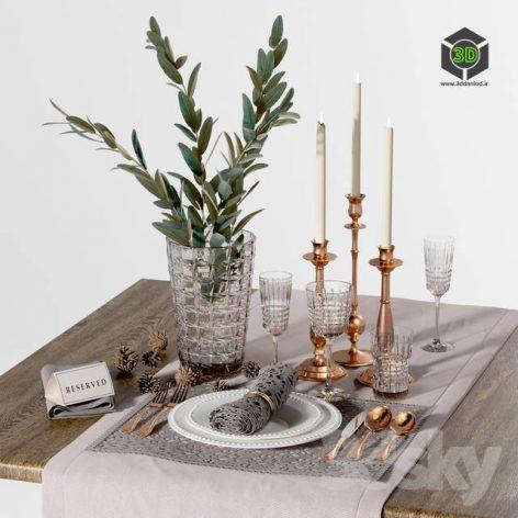 Table Settings Vol 1(3ddanlod.ir) 2765