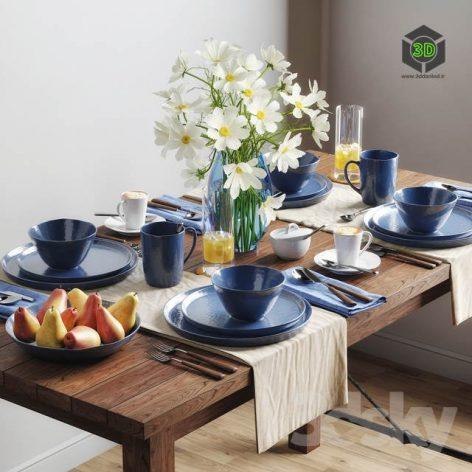 Tableware Set 1(3ddanlod.ir) 2722