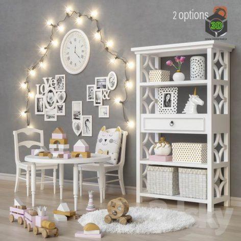 Toys and Furniture Set 22(3ddanlod.ir) 2646