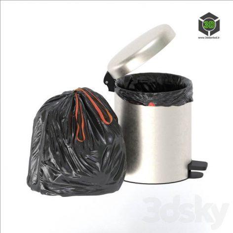 Trash Bag and Bin(3ddanlod.ir) 2779