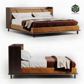 Twelve AM Bed by Molteni & C(3ddanlod.ir) 2811